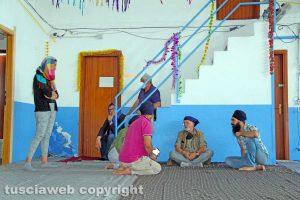Viterbo - L'incontro della Rete antitratta con i sikh