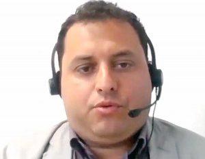 Viterbo - Consiglio provinciale - Fabio Valentini in collegamento