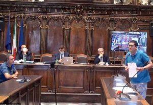 Viterbo - Consiglio comunale - Barelli