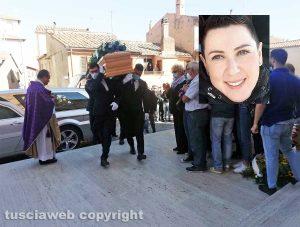 Montalto di Castro - I funerali di Lauretta Cardarelli