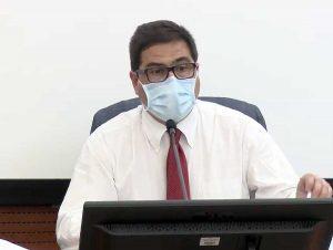 Alessio D'Amato, assessore regionale alla Sanità