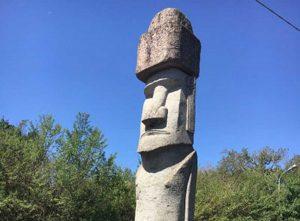 Il Moai di Vitorchiano