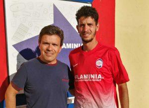 Sport - Calcio - Flaminia - Francesco Bravini e Francesco Lazzarini
