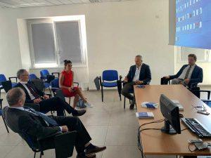 Civitavecchia - L'incontro con l'ambasciatore d'Italia in Kazakistan Pasquale Davino