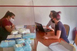 Viterbo - Arci - La distribuzione delle mascherine