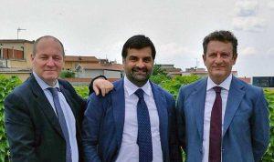 Paolo Auriemma, Luca Palamara e Marco Mancinetti