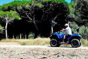 Tarquinia - Un quad per il controllo delle spiagge