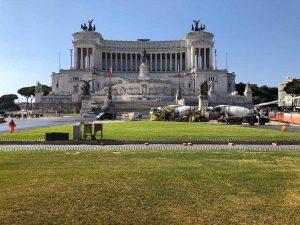 Roma - Piazza Venezia - Conclusi lavori di sondaggio