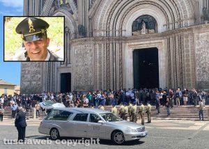 Orvieto – I funerali di Maurizio Pagliaroli