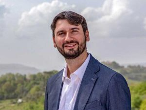 Magliano Sabina - Il sindaco Giulio Falcetta