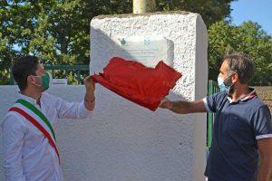 Valentano - Restyling circolo tennis - L'inaugurazione con il sindaco Bigiotti
