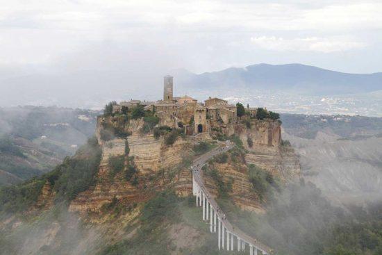 Civita di Bagnoregio - La foto di Giampiero Pellegrini - Primo classificato