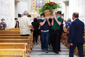 Viterbo - I funerali di Rodolfo Perazzino