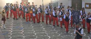 La banda Ferentum di Grotte Santo Stefano