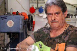Viterbo - Stefano Bertollini, il calzolaio di via Calabresi