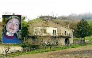 Giallo di Gradoli - La villetta di via Cannicelle - Nel riquadro: Tatiana Ceoban