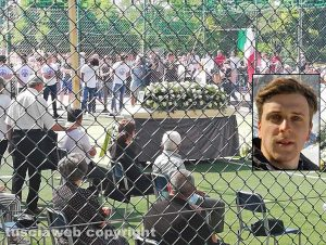 Viterbo - I funerali di Raffaele Trua
