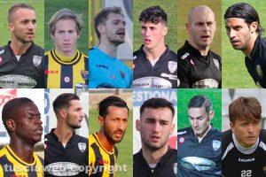 Sport - Calcio - Viterbese - Alcuni dei calciatori sotto contratto