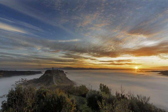 Civita di Bagnoregio - La foto di Basile Emanuele - Premio speciale Tusciaweb