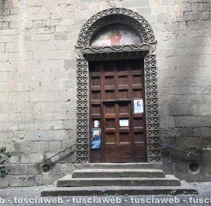 Viterbo - Via Mazzini - La chiesa di San Giovanni in Zoccoli
