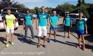 Sport - Atletica - La squadra At running a Castiglione del Lago
