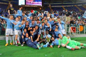 Sport - Calcio - Lazio primavera - La vittoria della coppa Italia primavera 2015