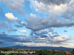 Nubi sopra Viterbo