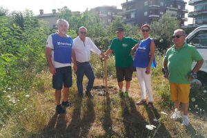 Viterbo - L'associazione Fare verde al lavoro