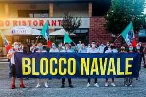 Orte - La manifestazione di Fratelli d'Italia