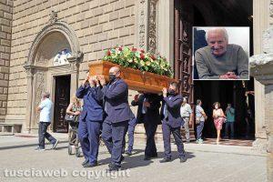 Viterbo - La Quercia - I funerali di Remo Petretti
