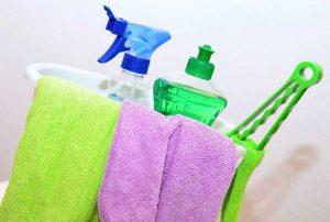 Igienizzare e pulire con i giusti prodotti