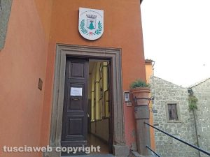 Montefiascone - Il palazzo comunale