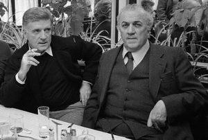 Sergio Zavoli e Federico Fellini