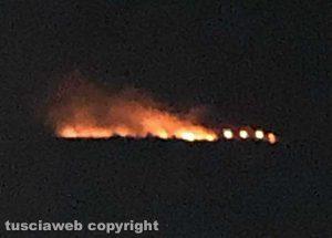 Ancora un incendio a Sant'Agostino a Tarquinia