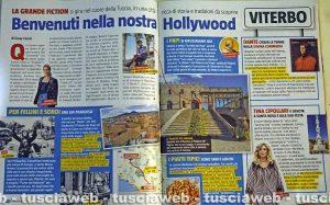 Il servizio di Tv Sorrisi e Canzoni dedicato a Viterbo