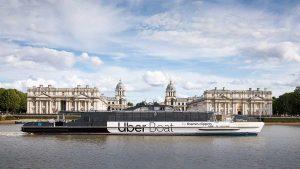 Londra, Uber lancia il servizio di taxi sul Tamigi