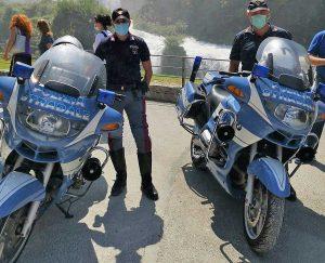 Terni - Polizia - Le moto della Stradale