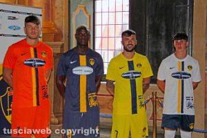 Sport - Calcio - Viterbese - Le nuove maglie