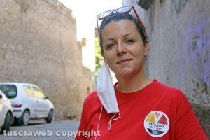 Viterbo - La consigliera comunale Chiara Frontini