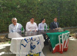 La presentazione del candidato sindaco Lega e Forza Italia a Civita Castellana