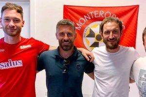 Sport - Calcio - Monterosi - Parte dello staff tecnico