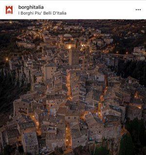 Vitorchiano - La foto dichiarata vincitrice sul profilo Instagram di Borghi d'Italia