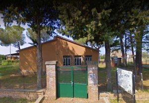 Vetralla - L'ex scuola in località Cinelli
