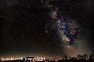 La Via Lattea vista dalla Tuscia