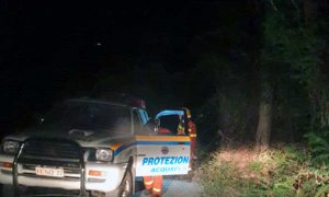 Acquapendente - L'incendio a Trevinano - L'intervento della protezione civile