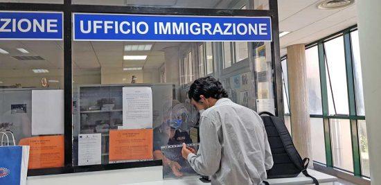 Terni - L'ufficio immigrazione