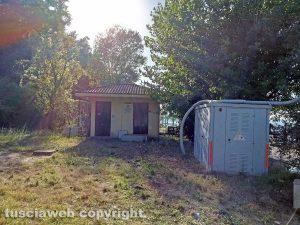 Montefiascone - La stazione di sollevamento numero 13 ex Cobalb