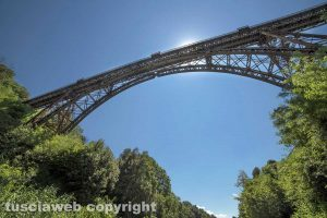 Ronciglione - Il ponte ferroviario