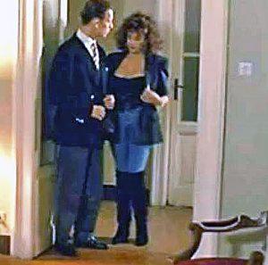 Elisabetta Lupetti con Rocco Siffredi in una scena del film Ecstasy