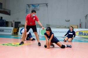 Sport - Volley - Gli allenamenti delle ragazze della Jvc